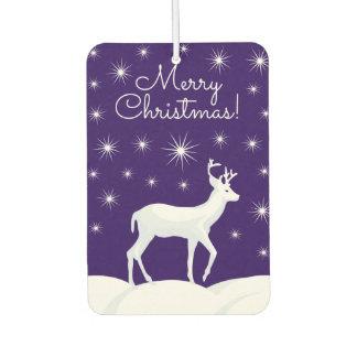 Christmas Reindeer Starry Sly Air Freshener