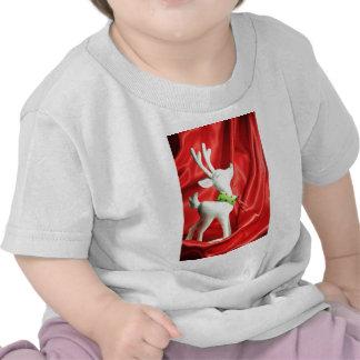 Christmas reindeer t shirt