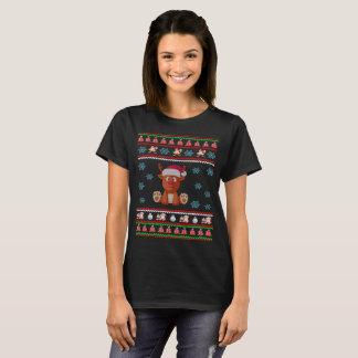 Christmas Reindeer Ugly Sweater T-Shirt