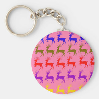 Christmas Reindeers Keychains-Stocking Stuffer