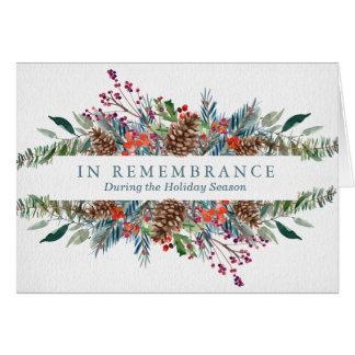 Christmas Remembrance Card | Christmas Wreath