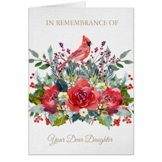 Christmas Remembrance Card | Dear Daughter