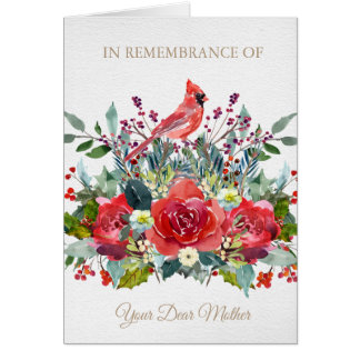 Christmas Remembrance Card | Dear Mother