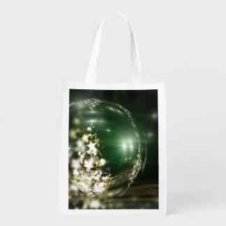 Christmas Reusable Grocery Bag