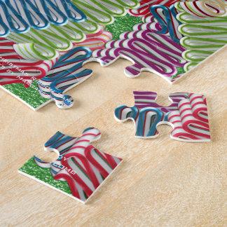 Christmas Ribbon Candies Jigsaw Puzzle