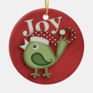 Christmas Robin (2 sided) Christmas Ornament