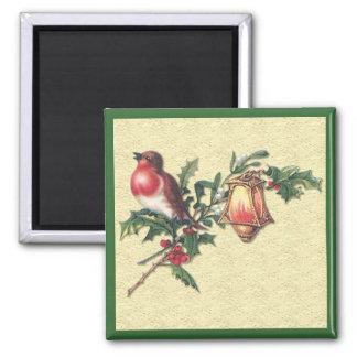 Christmas Robin Magnet