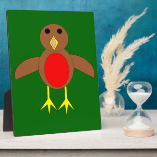 Christmas Robin Plaque