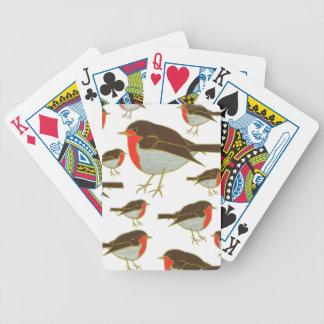 Christmas Robins Playing Cards