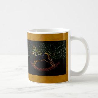 Christmas Rocking Horse 2016 Coffee Mug