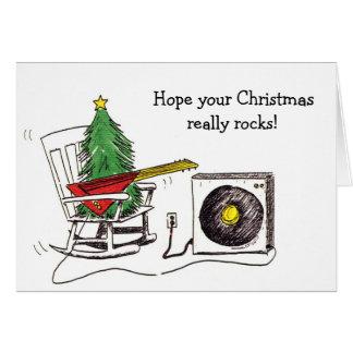 Christmas Rocks card
