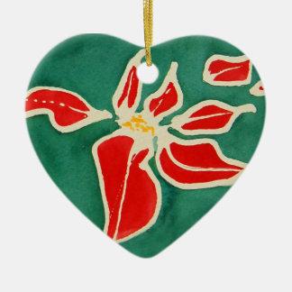 Christmas Rose Christmas Ornament