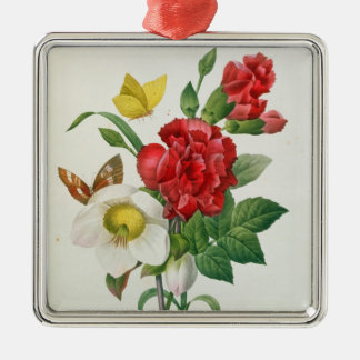 Christmas Rose, Helleborus niger Christmas Ornament