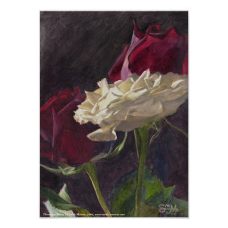 Christmas Roses: petite Poster