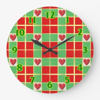 Christmas Round (Large) Wall Clock