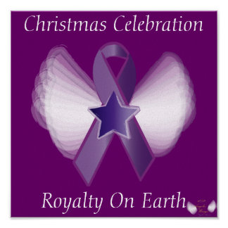 Christmas Royalty Celestial On Earth-Customize Poster