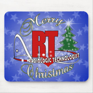 CHRISTMAS RT RADIOLOGIC TECHNOLOGIST MOUSE PAD