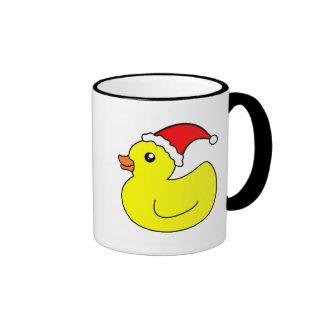 Christmas Rubber Duck Mug
