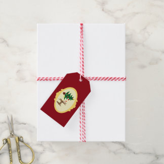 Christmas Rudolph Gift Tags