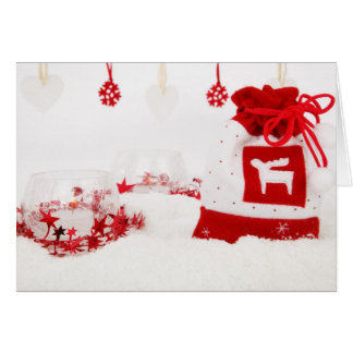 Christmas Sack Decoration Card