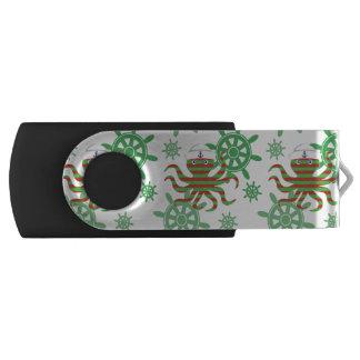 Christmas sailor baby octopus USB flash drive