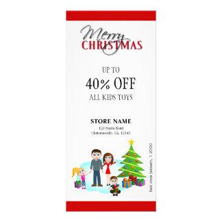 Christmas Sale Xmas Family Rack Cards
