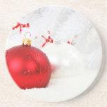 Christmas Sandstone Coaster