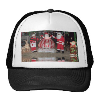 Christmas Santa and Mrs Claus Hat