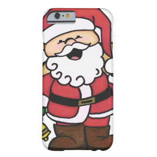 Christmas Santa Barely There iPhone 6 Case