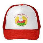 Christmas Santa Chef Trucker Hats