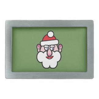 Christmas Santa Claus 1.0 Belt Buckles