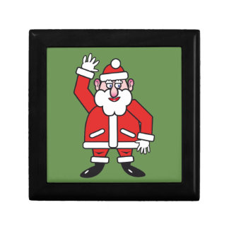 Christmas Santa Claus Gift Box