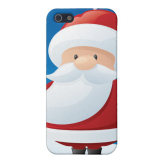 Christmas Santa Claus Holiday IPhone 4 Speck Case Cover For iPhone 5/5S