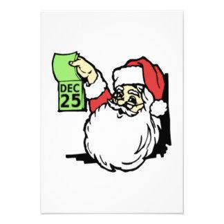 Christmas Santa Claus Invites