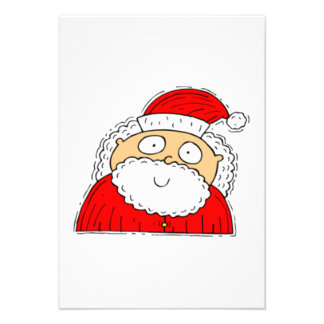 Christmas Santa Claus Personalized Invites