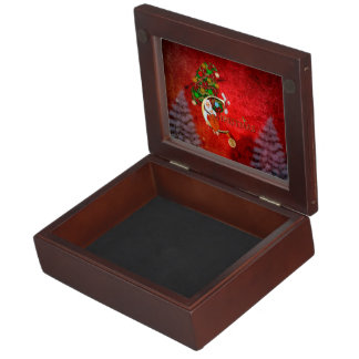 Christmas, Santa Claus Keepsake Box