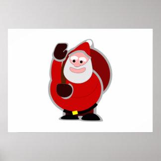 Christmas Santa Claus Posters