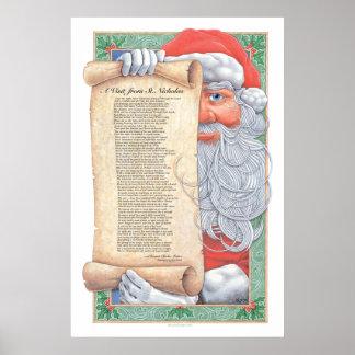 Christmas Santa Claus Print