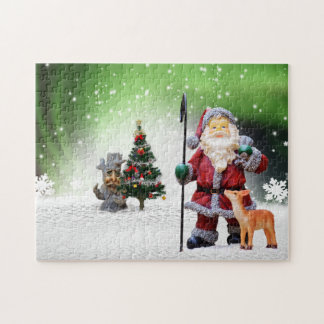 Christmas santa clause jigsaw puzzle