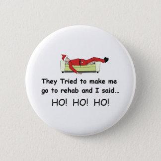 Christmas Santa Funny 6 Cm Round Badge