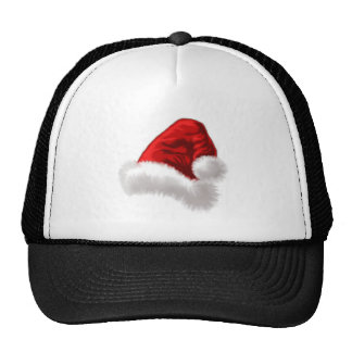 Christmas Santa Hat Art
