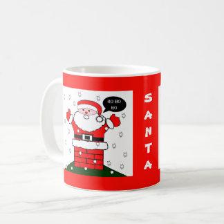 Christmas Santa Ho Ho Ho Coffee Mug
