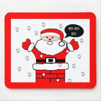 Christmas Santa Ho Ho Ho Mouse Mat