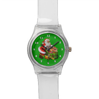 Christmas santa Holiday May 28th Wrist Watch