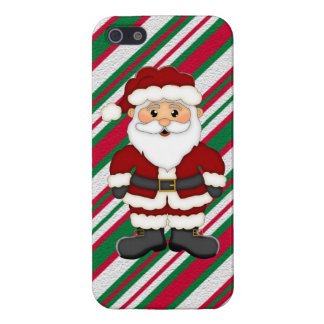 Christmas Santa iPhone5 Savvy Glossy case iPhone 5 Covers