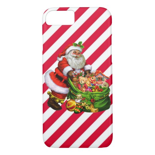 Christmas Santa iPhone 7 barely there case