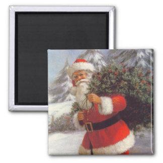 Christmas Santa Magnet - Stocking Stuffer