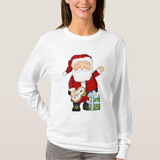 Christmas Santa Nano Long Sleeve t-shirt