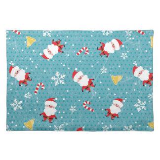 Christmas Santa pattern Placemat