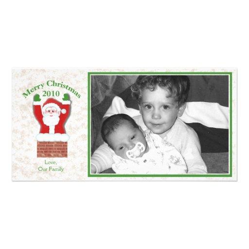 Christmas Santa/ Photo Greeting Card